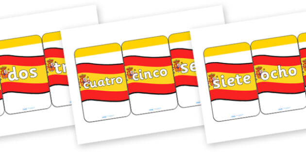 How to create Spanish flashcards