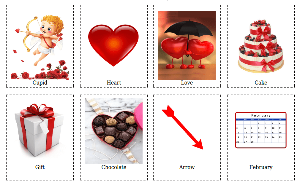 20 St. Valentine Flashcards