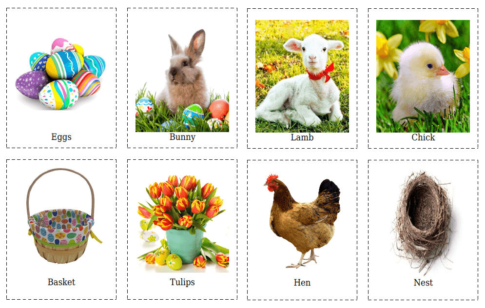 20 Easter Flashcards