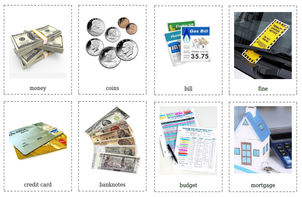 20 Money & Finance Flashcards