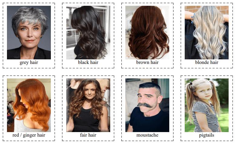 40 Appearance Flashcards [Describing People]